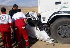 تصادف مرگبار سواری با کامیون در جنوب تهران