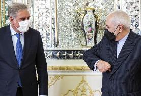توئیت ظریف از دیدار امروزش با همتای پاکستانی: ملاقاتی عالی با برادر و دوستم در تهران داشتم