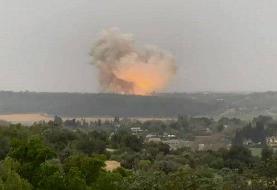 ویدئو | انفجار مهیب در یک کارخانه موشک سازی در اسرائیل