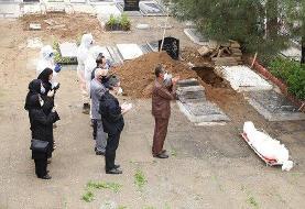 ۳۱ فروردین، یکی از سختترین روزهای تاریخ ۵۰ ساله بهشت زهرا (س)/ دفن روزانه نزدیک به ۱۵۰ متوفای ...