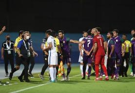 AFC مدافع الشرطه را نقره داغ کرد