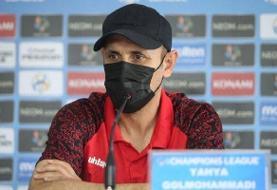 گلمحمدی: امتیاز نیمی از رقابتها برای صعود کافی نیست | تاکید می کنم گروه سختی داریم