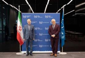 دیدار معاون ظریف با دبیرکل سازمان حقوق بین الملل خصوصی لاهه و رئیس دیوان بینالمللی کیفری