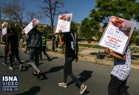 ویدئو / برخورد با متخلفان چهارشنبهسوری در مشهد
