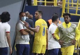 حرکت غیراخلاقی مهاجم جنجالی النصر در دیدار با فولاد / باشگاه ایرانی به AFC شکایت کرد