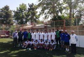اردوی تیم ملی فوتبال نابینایان در شیراز/آمادگی بهزیستی برای کمک به فوتبال نابینایان