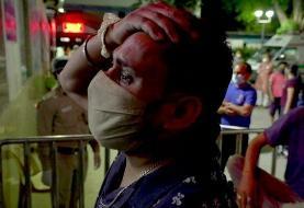 کرونا؛ بیمارستانهای دهلی با کمبود اکسیژن و تجهیزات پزشکی دست و پنجه نرم میکنند