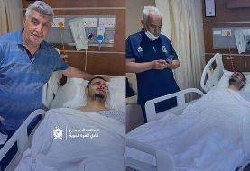 جراحی صورت بازیکن عراقی و از دست رفتن شانس حضور در ACL