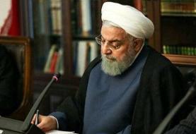 روحانی درگذشت دو خبرنگار در حادثه واژگونی اتوبوس را تسلیت گفت