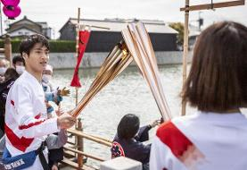اولین ابتلا به ویروس کرونا در مراسم حمل مشعل المپیک