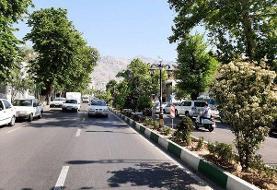 پیاده راه خیابان شریعتی در شمال تهران باغ راه میشود