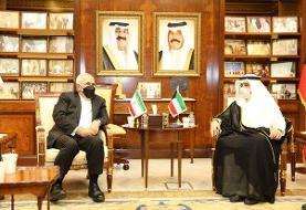 سفر ظریف به کویت در ادامه سفرهای منطقهای به کشورهای حاشیه خلیج فارس