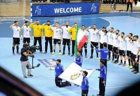 هندبال ایران میزبان قهرمانی مردان آسیا شد