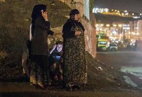 مصدومیت ۲ نفر در زلزله مریوان