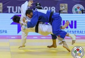 جودوی قهرمانی آسیا/ بریمانلو به مدال برنز نرسید