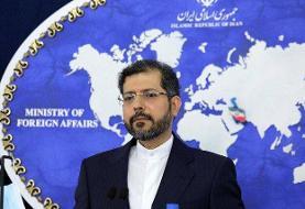 وزارت خارجه: تایید حمله به کشتی ایران در دریای سرخ