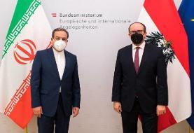 رایزنی عراقچی با وزیر خارجه اتریش در وین