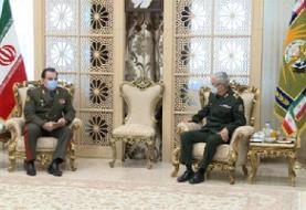 وزیر دفاع تاجیکستان با سرلشکر باقری دیدار کرد