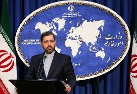 خطیب زاده: منشاء و شیوه شکل گیری انفجار کشتی ایرانی در دست بررسی است