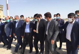 وزیر نفت وارد فرودگاه شهرستان زابل شد
