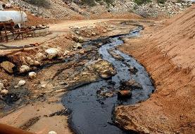 تخلیه پسابهای نفتی، سواحل جزیره خارک را آلوده کرد