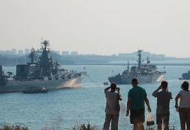 اعزام کشتیهای جنگی روسیه به دریای سیاه