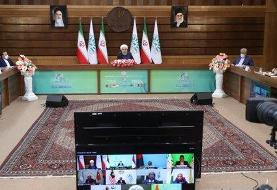 روحانی: آمریکا با لغو تحریم ها و اتخاذ تدابیر عملی به برجام بازگردد