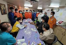 ایران نفتکش کرهای را آزاد کرد
