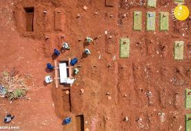 (تصاویر) همه گیری کرونا از بالا