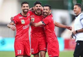 پیروزی پرسپولیس بر الوحده امارات در نیمه نخست