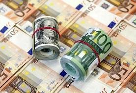 کاهش نامحسوس قیمت دلار و یورو