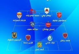حضور ۴ بازیکن ایران در ترکیب منتخب هفته ششم لیگ قهرمانان آسیا