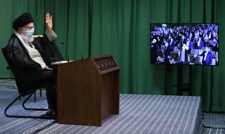 رهبر انقلاب: مشارکت بالا در انتخابات در درجه اول اهمیت است | دولتی ...