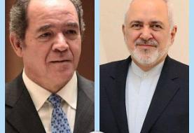 تاکید وزرای خارجه ایران و الجزایر بر لزوم تقویت همکاریهای دو جانبه