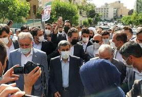 ببینید | درگیری طرفداران احمدینژاد با کارمندان وزارت کشور