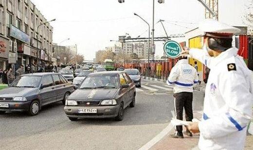ممنوعیت تردد خودروهای غیربومی در شرق استان تهران