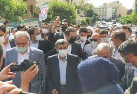 احمدی نژاد برای ثبت نام در انتخابات ۱۴۰۰ وارد وزارت کشور شد +عکس