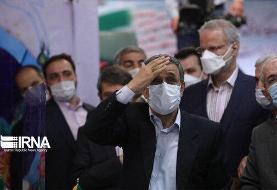 محمود احمدی نژاد تهدید به تحریم انتخابات کرد