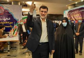 امیرحسین قاضیزاده هاشمی، نایب رییس مجلس در انتخابات ثبت نام کرد