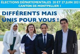 تفاوت آمریکا با فرانسه: جنجال عکس باحجاب / دبیر کل حزب ماکرون: از نامزدی زن محجبه در انتخابات محلی فرانسه حمایت نمی کنم