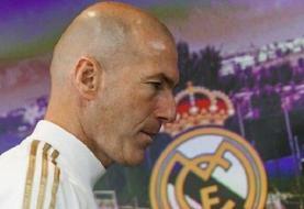 جدایی زیدان از رئال مادرید در پایان فصل