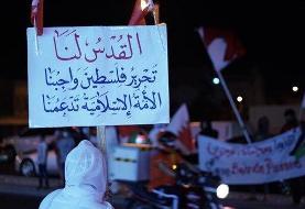بیانات رهبری الگوی جوانان فلسطینی در خلق حماسه و دفاع جانانه در مقابل هیمنه پوشالی غده سرطانی