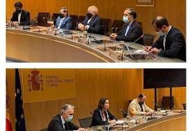 گزارش توییتری ظریف از رایزنیهای اخیرش با مقامات اسپانیا