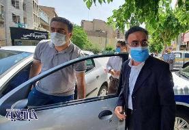 تصاویر | مصطفی تاجزاده خبرساز با همسرش برای کاندیداتوری آمد
