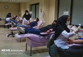 افزایش ۱۴ درصدی اهدای خون در رمضان ۱۴۰۰