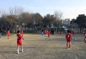 مسابقات فوتبال خیابانی در محله هرندی برگزار شد