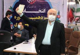 حق شناس: مستقل وارد انتخابات شده ام