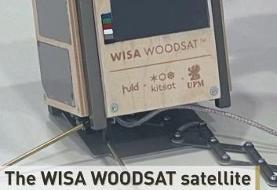 نخستین ماهواره چوبی جهان با دوربین سلفی به مدار زمین میرود