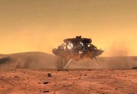مریخنورد چین با موفقیت روی سطح مریخ فرود آمد