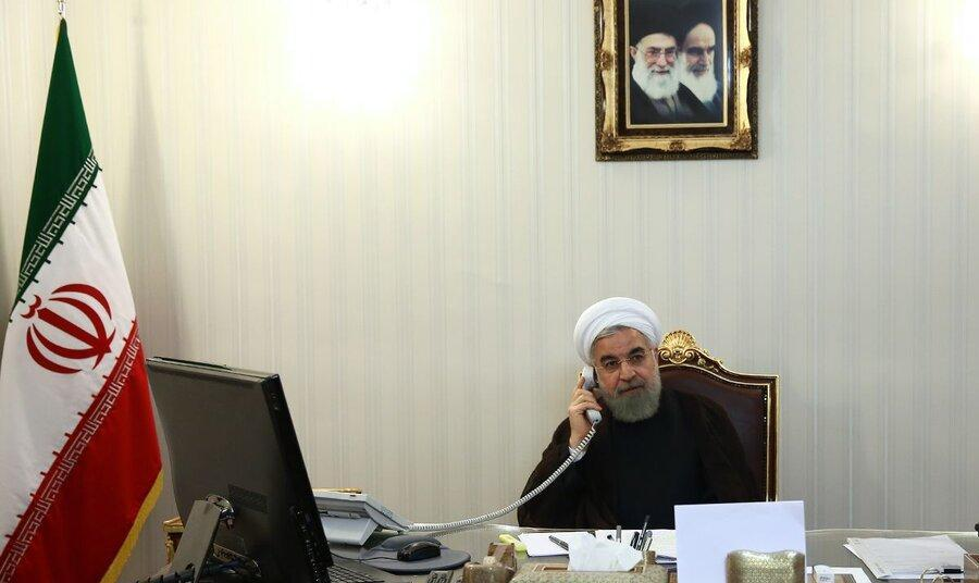 روحانی : ضرورت استفاده از همه ظرفیتها برای مقابله با جنایات صهیونیست ...